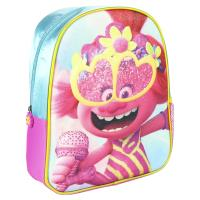 BACKPACK NURSERY 3D PREMIUM GLITTER TROLLS