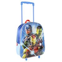 TROLLEY 3D NURSERY METALLIZED AVENGERS