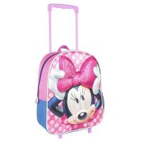 ZAINO CARRELLO INFANTILE 3D SEQUINS MINNIE