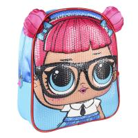 BACKPACK NURSERY 3D PREMIUM LENTEJUELAS LOL