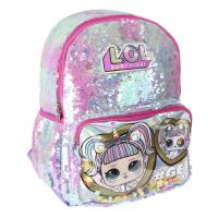 BACKPACK CASUAL LENTEJUELAS IRIDESCENT LOL