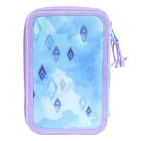 FILLED PENCIL CASE TRIPLE GIOTTO PREMIUM LENTEJUELAS FROZEN 2 1