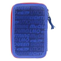 FILLED PENCIL CASE TRIPLE GIOTTO PREMIUM PVC CARS 3 1