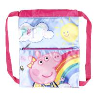 SAKKY BAG BACKPACK BRILLANTE PEPPA PIG