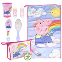 TROUSSE DE TOILETTE SET DE TOILETTAGE PERSONNEL PEPPA PIG