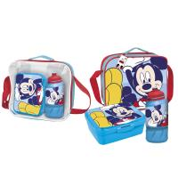LUNCH BAG CON ACCESORIOS MICKEY