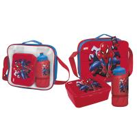 LUNCH BAG CON ACCESORIOS SPIDERMAN