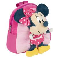 MOCHILA GUARDERIA CON PELUCHE MINNIE