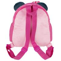 MOCHILA GUARDERIA CON PELUCHE MINNIE 1