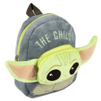 MOCHILA CRECHE PERSONAGEM PELUCHE THE MANDALORIAN