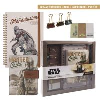 STATIONERY SET THE MANDALORIAN THE CHILD