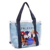 BOLSO ASAS TRANSPARENTE FRIENDS