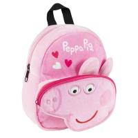 BACKPACK KINDERGARTE CHARACTER TEDDY PEPPA PIG