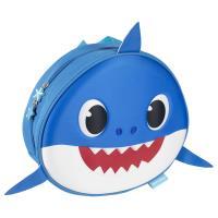 MOCHILA INFANTIL 3D PREMIUM APLICACIONES BABY SHARK