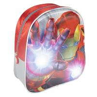 KIDS BACKPACK LIGHTS 3D AVENGERS