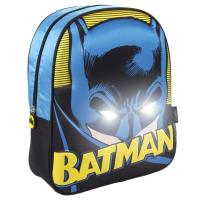 KIDS BACKPACK LIGHTS 3D BATMAN
