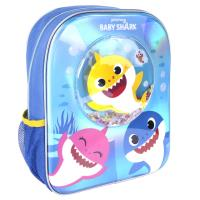 KIDS BACKPACK CONFETTI BABY SHARK