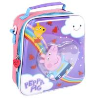 TRAVEL SET LUNCH CONFETTI PEPPA PIG