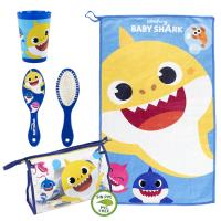 TRAVEL SET TOILETBAG BABY SHARK