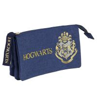 TROUSSE PLAN 3 COMPARTIMENTS HARRY POTTER GRYFFINDOR