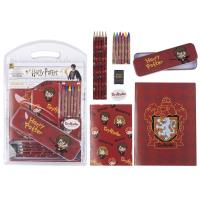 STATIONERY SET ESCOLAR HARRY POTTER GRYFFINDOR