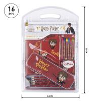 STATIONERY SET ESCOLAR HARRY POTTER GRYFFINDOR 1