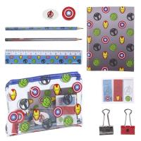 STATIONERY SET ESCOLAR AVENGERS
