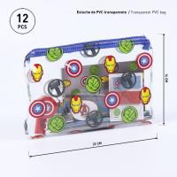 STATIONERY SET ESCOLAR AVENGERS 1