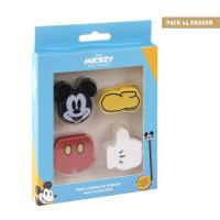 GOMME PACK x4 MICKEY