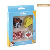 GOMME PACK x4 MINNIE