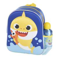 KIDS BACKPACK 3D CON ACCESORIOS BABY SHARK (BABY SHARK)