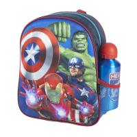 KIDS BACKPACK 3D CON ACCESORIOS AVENGERS (AVENGERS)