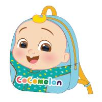 BACKPACK KINDERGARTE CON PELUCHE COCOMELON
