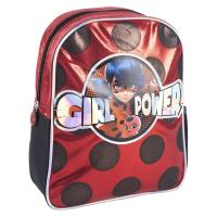 KIDS BACKPACK CHARACTER SPARKLY LADY BUG