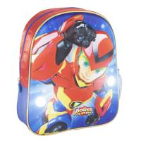 MOCHILA INFANTIL LUCES 3D POWER PLAYERS