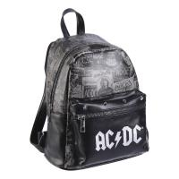 BACKPACK CASUAL FASHION FAUX-LEATHER ACDC