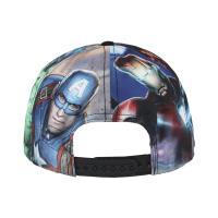CAP FLAT PEAK MARVEL 1