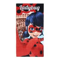 TOWEL COTTON LADY BUG