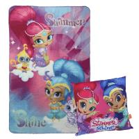 SET MANTA+COJÍN SHIMMER AND SHINE