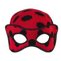 GORRO MASCARA LADY BUG