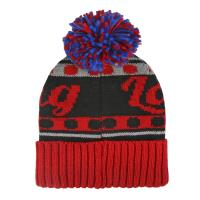 BONNET POMPON  LADY BUG 1
