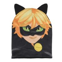 HAT MASK LADY BUG CAT NOIR 1