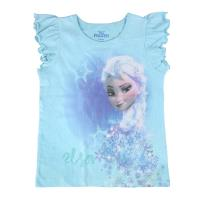 T-SHIRT MANGA CURTA FROZEN