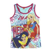 STRAPS T-SHIRT DC SUPERHERO GIRLS