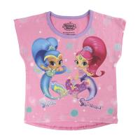 T-SHIRT MANGA CURTA SHIMMER AND SHINE 1