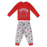 LONG SLEEVE PIJAMA PREMIUM COTTON CARS 3