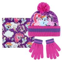 CONJUNTO 3 PIEZAS MY LITTLE PONY