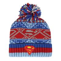 GORRO POMPON SUPERMAN