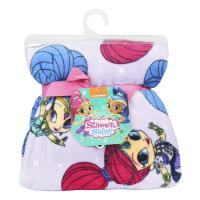 FLANNEL BLANKET SHIMMER AND SHINE 1