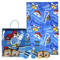 SET CADEAU PLAID PAW PATROL
